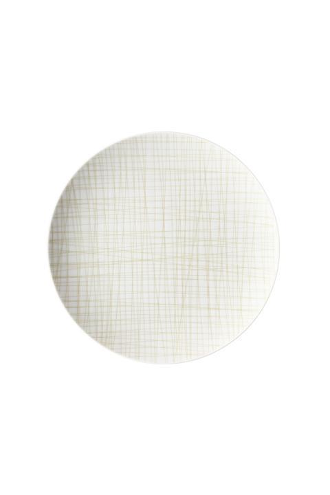 R_Mesh_Line Cream_Plate 27 cm flat
