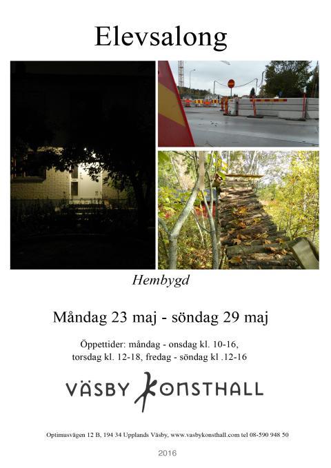 ELEVSALONG i Väsby Konsthall