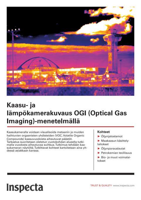 Kaasu- ja lämpökamerakuvaus esite