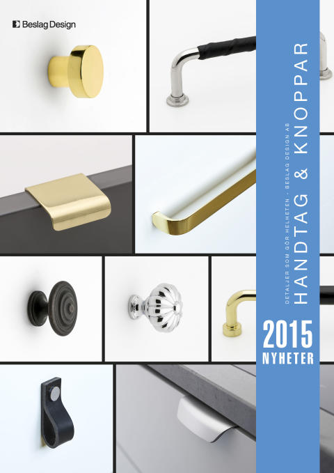 Nyhetskatalog Handtag & Knoppar 2015