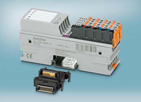Digital, mixed modul til særligt kompakte I/O stationer