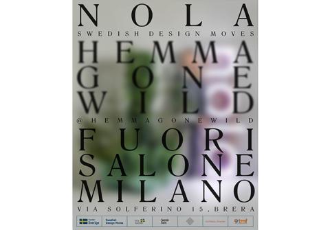 Nola in Milan - Swedish Design Moves