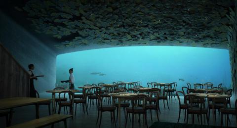 Världens största undervattensrestaurang öppnar i Norge