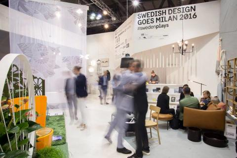 Swedish Design Goes Milan 2016 #swedenplays