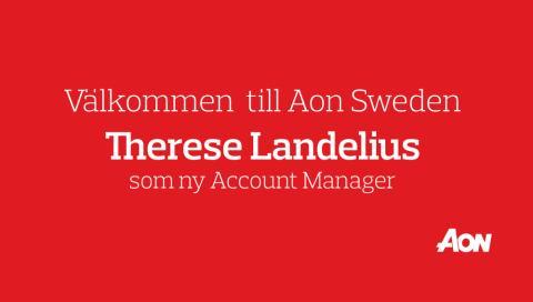 Välkommen till Aon, Therese Landelius!