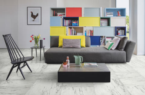 Declutter your Living Room in 3 Simple Steps!