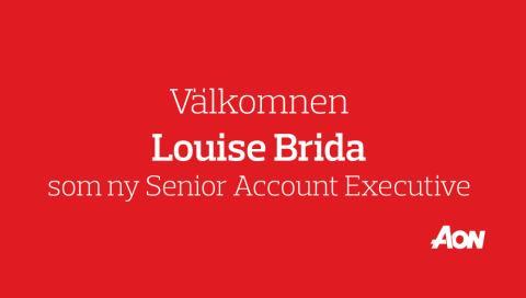 Louise Brida kommer till Aon Sweden