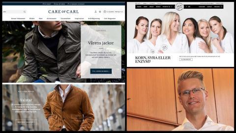 Askås-kunden Care of Carl toppar e-handelsranking