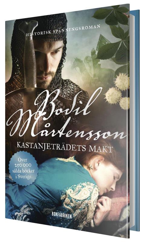 Kastanjeträdets makt av Bodil Mårtensson – andra delen i medeltidstrilogin