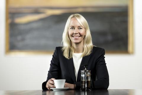 Kathrine Löfberg på Europas största kaffe-event