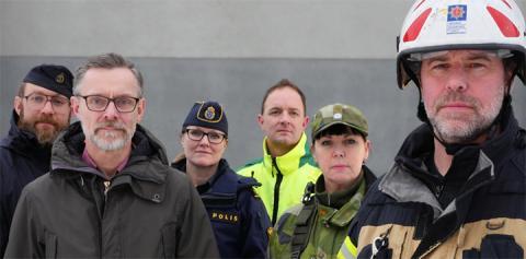 Västra Götaland övar totalförsvar tillsammans med resten av Sverige