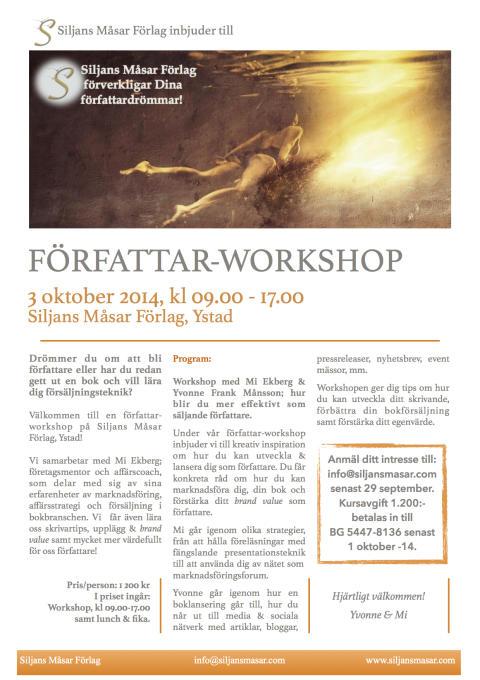 Författar-Workshop - Österlen