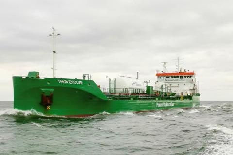 Gasum beliefert Tanker mit Bio-LNG