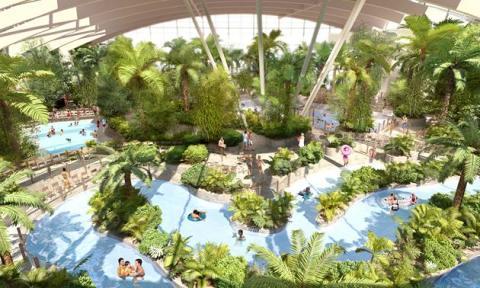 Center Parcs reveals Woburn Forest Subtropical Swimming Paradise designs