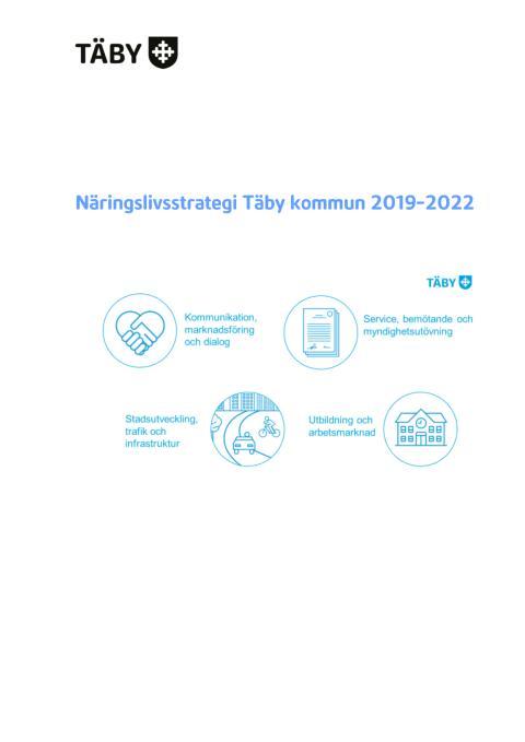 Näringslivsstrategi Täby kommun 2019-2022