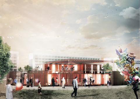 Startskuddet for fremtidens Gellerup og Toveshøj | Arkitema Architects vinder områdets nye vartegn, det kommende informations- og aktivitetscenter