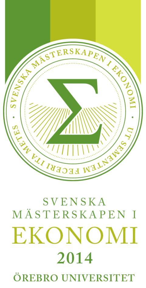 Örebro värdstad för SM i Ekonomi 2014