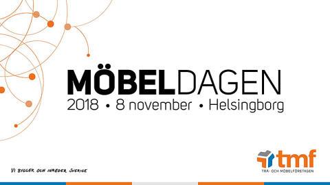 PRESSINBJUDAN: Möbeldagen 2018 i Helsingborg: Innovativ pionjär ska inspirera Sveriges möbelbransch