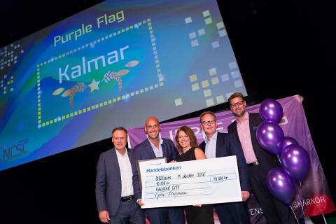 Kalmar är Årets Purple Flagstad