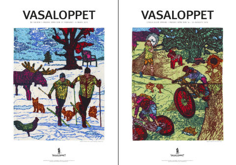 Artists compete to create the Vasalopps theme 2015 – the winner is presented at the Zorn Museum in Mora