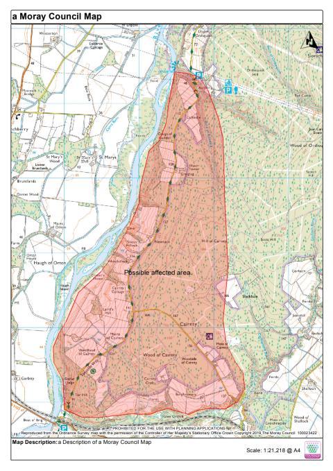 Delfur Bridge risk area