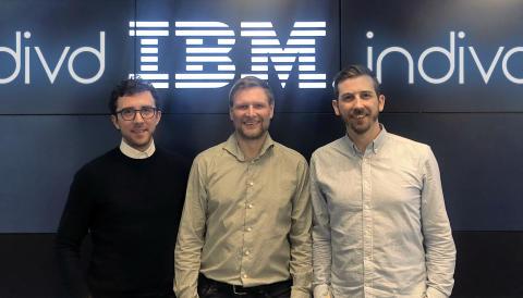 IBM rekordsatsar på AI-bolaget Indivd