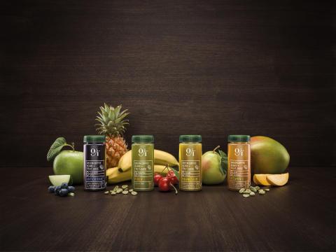 Oji's serie av funktionella fruktdrycker
