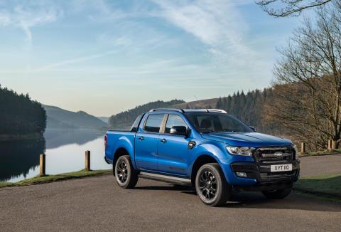 Ford viser frem system for tilkoblede nyttekjøretøy og råtøff Ranger