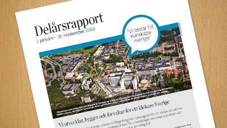 Delårsrapport 1 januari - 30 september 2016
