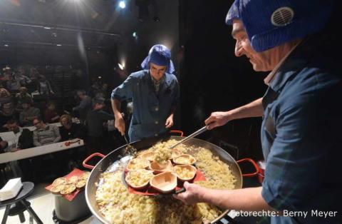 Füllett im Einsatz beim Theater salz+pfeffer in Nürnberg