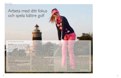 Arbeta med ditt fokus och spela bättre golf