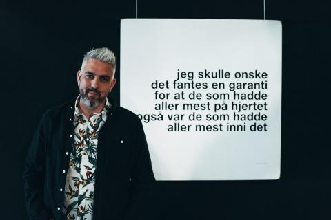 Trygve Skaug, Norges mest leste Instagrampoet, aktuell med diktbok for ungdom