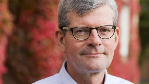 Rektor Håkan Pihl hoppas på klimatallians