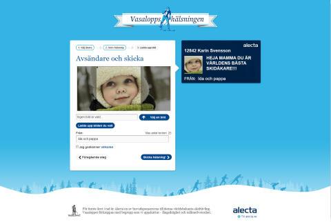 Alecta lanserar Vasaloppshälsningen