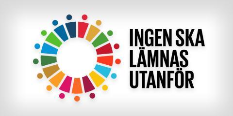 Ny ikon för Agenda 2030:s viktigaste löfte: Ingen ska lämnas utanför