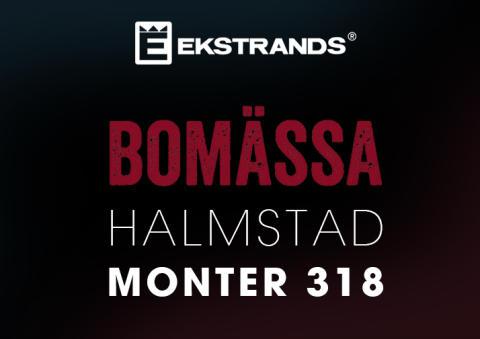 Ekstrands på Bomässa i Halmstad 28-30 oktober 2016