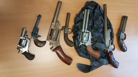 Firearms surrendered at Islington