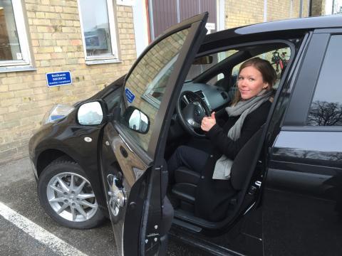 Miljöbästa Bil 2016 - Nissan Leaf - Johanna Grant, ordförande i Gröna Bilister