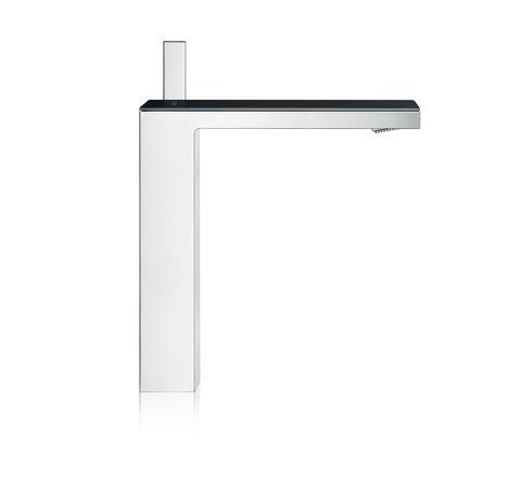 AXOR MyEdition håndvaskarmatur i krom/sort glas