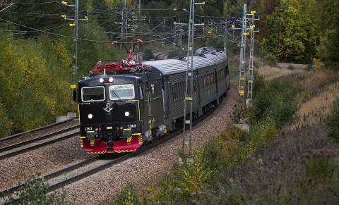 SJ Intercity höst