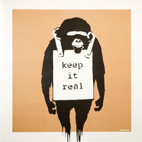 Pressinbjudan: Skivomslag och gatukonst av Banksy