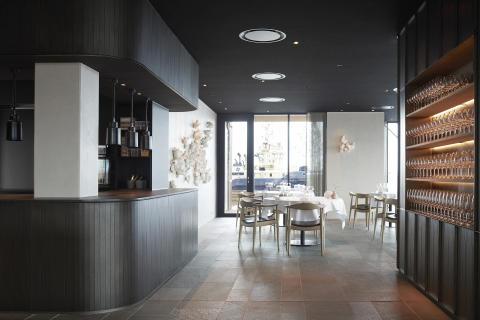 Dekton® by Cosentino til den danske  Michelin-restaurant  Ti Trin Ned