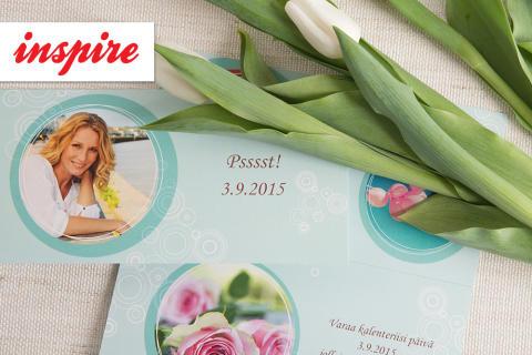 Save the date –kortit synttäreille ja sukujuhliin