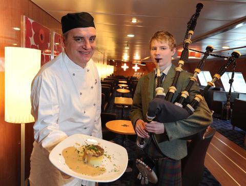 Celebrate Burns supper with Stena Line cruise