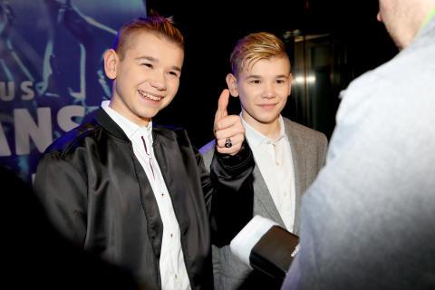 Marcus & Martinus på galapremiär i Stockholm