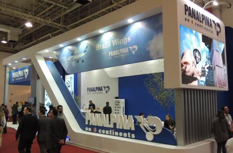 Panalpina @ Intermodal South America 2016 in São Paulo