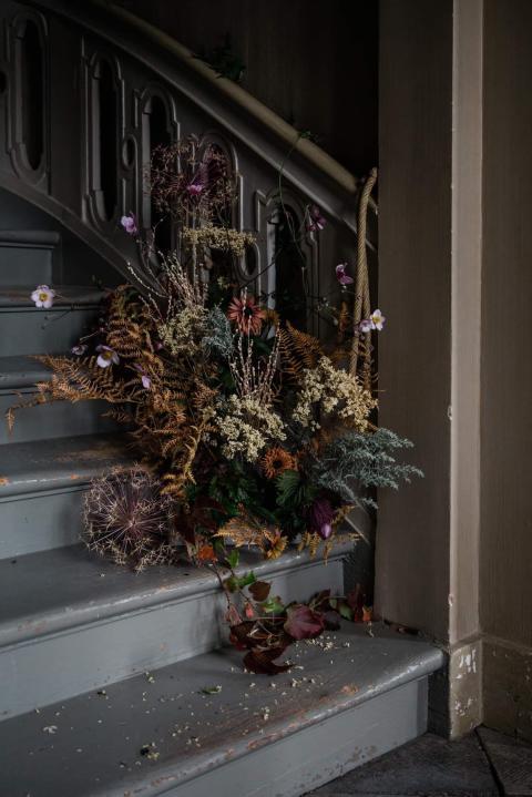 Slow Flowers- en hållbar blomsterutställning på Gunnebo Slott och Trädgårdar