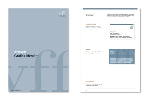VFF Pension – Grafisk identitetsmanual