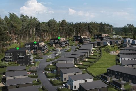 Säljsuccé för Veidekke – nu säljstartas 48 nya lägenheter i Hills, Mölndal