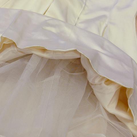 kjol med tyll